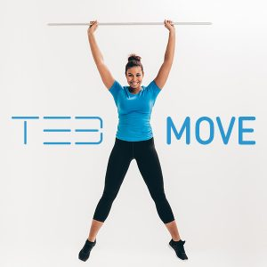 TE3 Digital Training Stick Move or guided, focused training and monitoring of development
